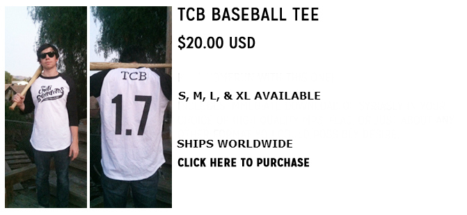 TCB BASEBALL TEE